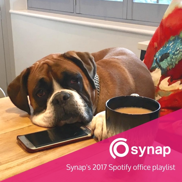 Synaps 2017 Spotify office playlist